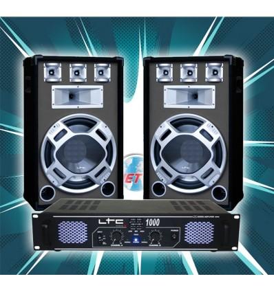 Pack Sono LTC DJ15BG