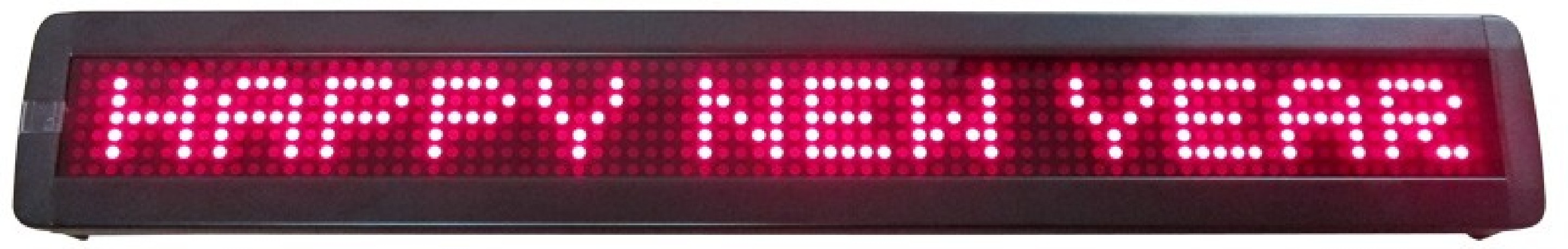 Journal Lumineux Ibiza MOVING MES15R