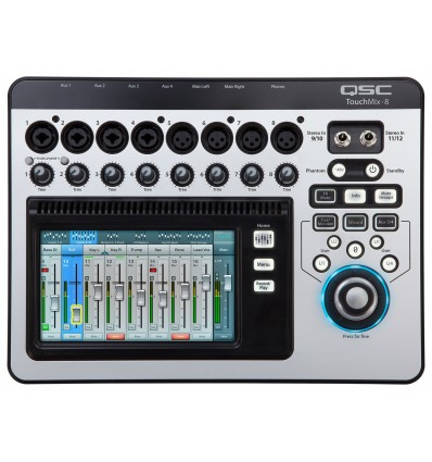 Console de Mixage Numérique QSC TouchMix8