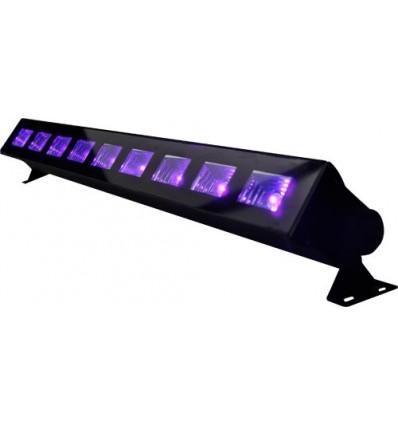 Barre à leds lumière noire UV IBIZA LEDUVBAR 9x3